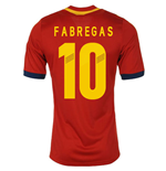 2013-14 Spain Home Shirt (Fabregas 10) - Kids