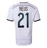 2014-15 Germany World Cup Home Shirt (Reus 21)