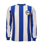 Arminia Bielefeld 1970's Long Sleeve Retro Shirt 100% cotton
