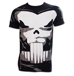 The PUNISHER Comic Book Superhero Halloween Costume T-Shirt