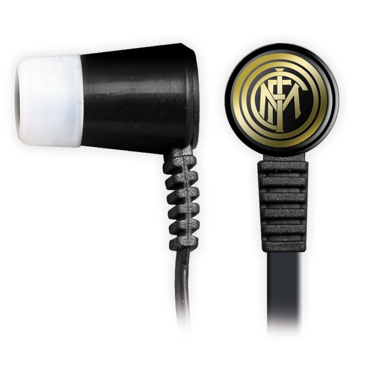 FC Inter Milan Earbuds with remote and mic