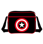 Captain America Shoulder Bag Shield Logo black