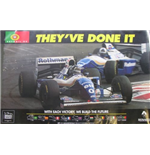"F1 Memorabilia Williams Poster ""They've Done It "" 1994"