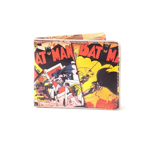 Batman Wallet Classic Comic Art
