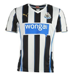 2013-14 Newcastle Home Football Shirt