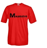 Round necked t-shirt with flex printing - malasunto.