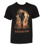 Men's Black Dr. Who Break The Promise Tee Shirt