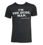 Men's Charcoal The Big Lebowski I'm The Dude Tee Shirt
