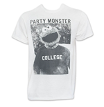 SESAME STREET Men's White Party Monster Tee Shirt