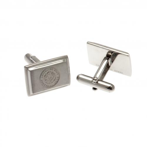 Leicester City F.C. Stainless Steel Cufflinks
