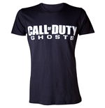 CALL OF DUTY Ghosts Men's Logo Medium T-Shirt, Black
