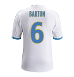 2013-14 Marseille Home Shirt (Barton 6)