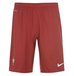 2014-15 Portugal Nike Home Shorts (Red)