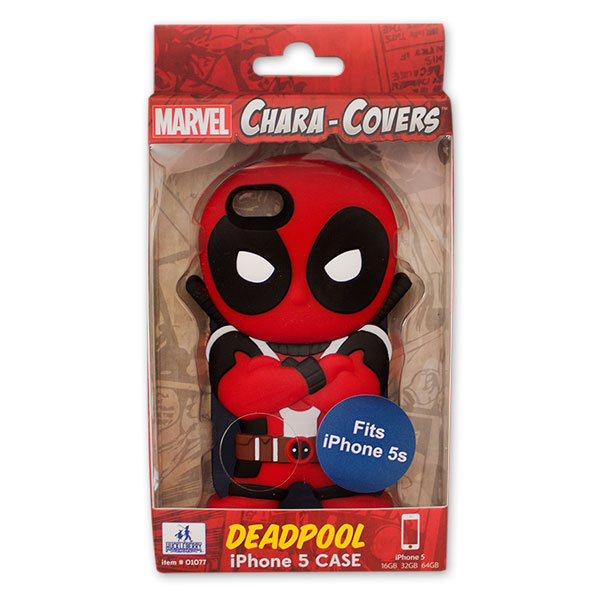 the latest 0fb92 4a91a DEADPOOL iPhone 5/5S Red And Black Case