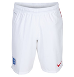 2014-15 England Nike Away Shorts (White)