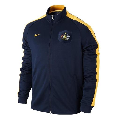 reputable site 83ceb cb1f2 2014-15 Australia Nike Authentic N98 Jacket (Navy)