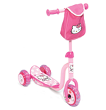 HELLO KITTY 3 Wheels Scooter with Front Nylon Bag
