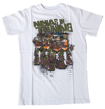 TEENAGE MUTANT NINJA TURTLES (TMNT) Ninjas In Training Kids T-Shirt, 176/182cm, White