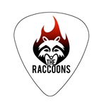 "Fender ""Heavy"" Guitar Pick - The Raccoons"