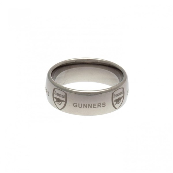 Arsenal F.C. Super Titanium Ring Medium