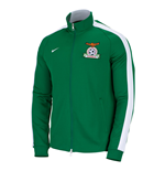 2014-15 Zambia Nike Authentic N98 Jacket (Green)