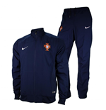 2014-15 Portugal Nike Woven Tracksuit (Navy)