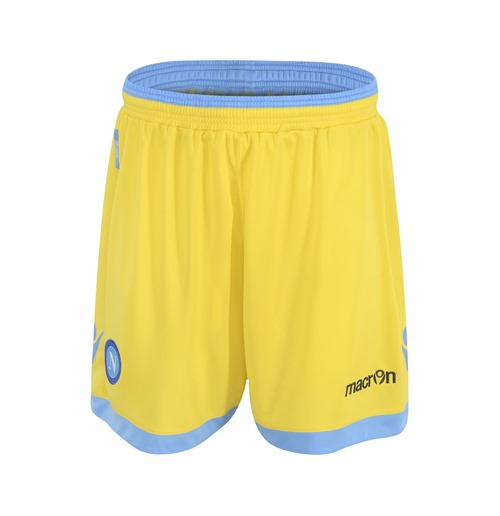 2013-14 Napoli Macron 3rd Shorts (Yellow)