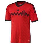 2014-15 Mexico Away World Cup Football Shirt
