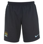 2013-14 Man City 3rd Nike Football Shorts (Kids)