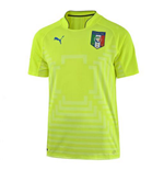 2014-15 Italy World Cup Goalkeeper Shirt (Yellow) - Kids
