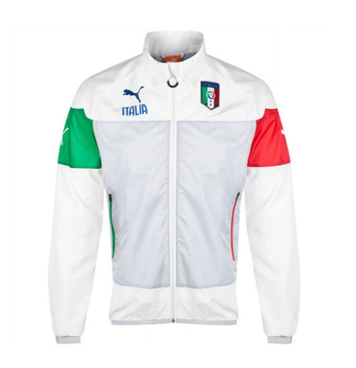 Buy Official 2014 15 Italy Puma Leisure Jacket White
