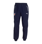 2014-15 Italy Puma Leisure Pants (Navy) - Kids