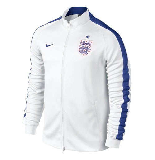 2014-15 England Nike Authentic N98 Jacket (White) - Kids