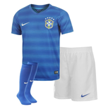 2014-15 Brazil Away World Cup Infants Kit