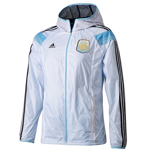 Football adidas Mens Tracksuit Top Argentina Anthem