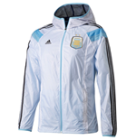 2014-15 Argentina Adidas Anthem Track Top (White)