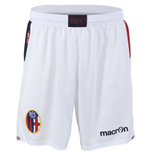 2013-14 Bologna Macron Home Shorts (White)