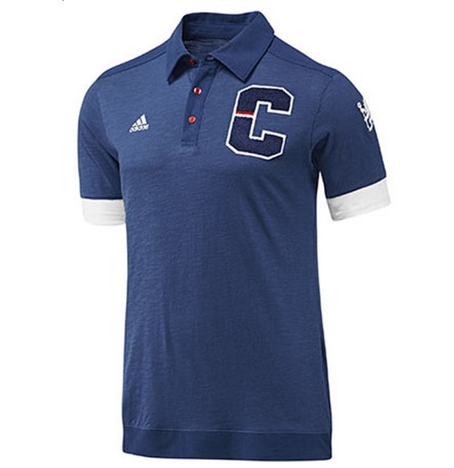 2013-14 Chelsea Adidas Authentic Polo Shirt (Blue)