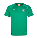2014-15 Ivory Coast Away World Cup Football Shirt