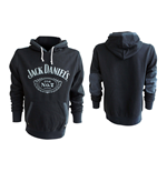 JACK DANIEL'S Classic Old No. 7 Small Hoodie, Black