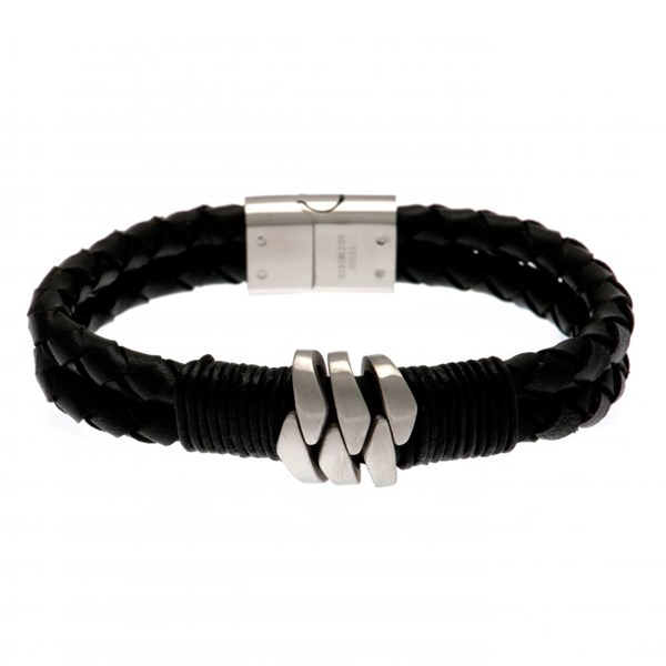Celtic F.C. Leather Bracelet
