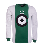 Cercle Brugge 1973/74 Long Sleeve Retro Shirt 100% cotton