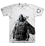 THE ELDER SCROLLS ONLINE Tibesman of the Bretons Extra Extra Large T-Shirt, Light Grey