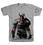 THE ELDER SCROLLS ONLINE Tribesman of the Nords Extra Extra Large T-Shirt, Grey