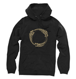 THE ELDER SCROLLS ONLINE Ouroboros Symbol Extra Large Hoodie, Black
