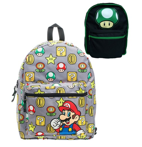Nintendo Reversible Backpack 1up & Field