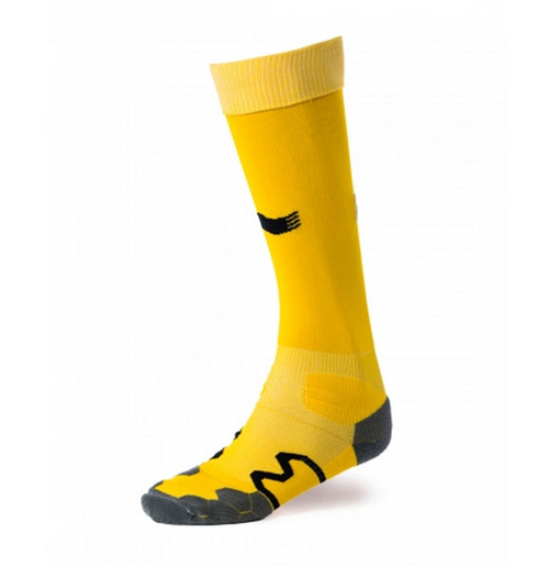 2014-15 Belgium Burrda 3rd Socks (Yellow)