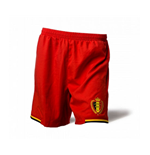 2014-15 Belgium Burrda Home Shorts (Red)