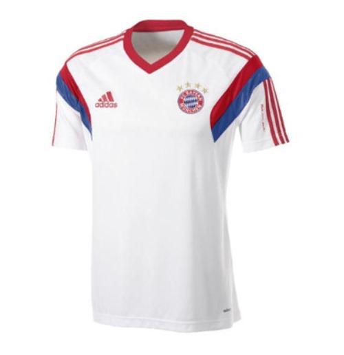 detailed pictures a1bd9 573c2 2014-15 Bayern Munich Adidas Training Shirt (White)