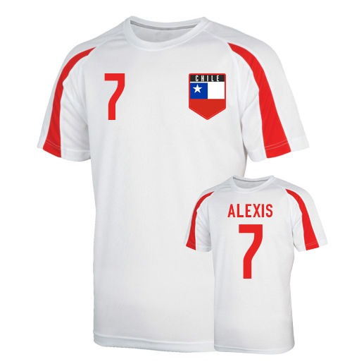 Chile Sports Training Jersey (alexis 7)